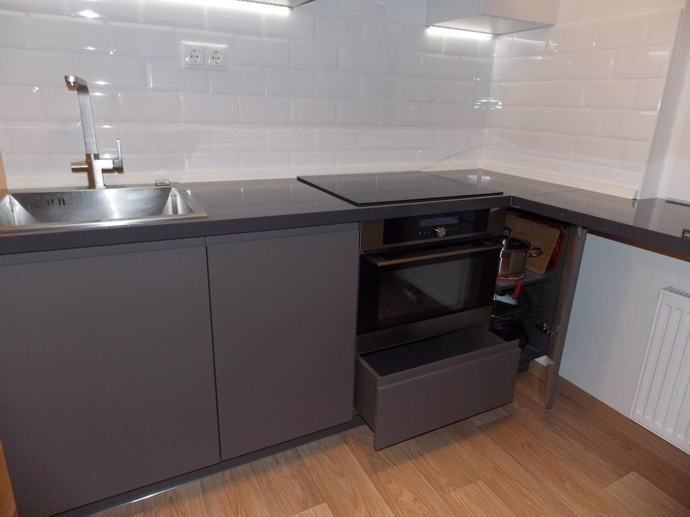 Акриловые кухни-Кухня МДФ в эмали «Модель 182»-фото4