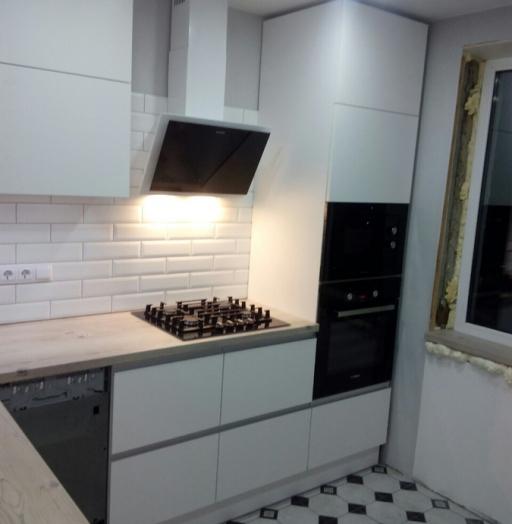 -Кухня из пластика «Модель 198»-фото29