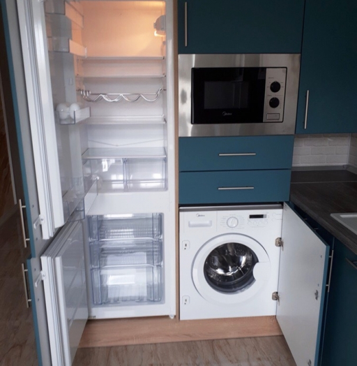 -Кухня из пластика «Модель 375»-фото6