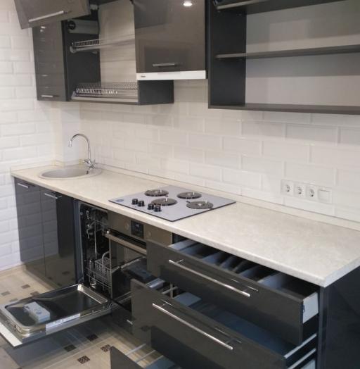 -Кухня из пластика «Модель 98»-фото20