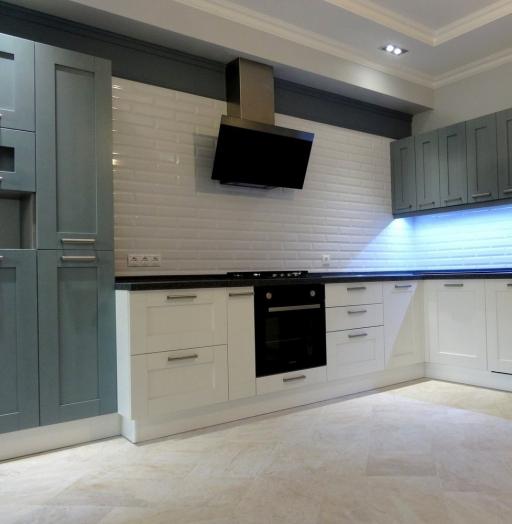 -Кухня МДФ в ПВХ «Модель 145»-фото1