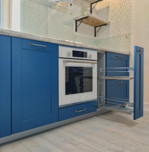 -Кухня МДФ в эмали «Модель 528»-фото6